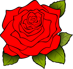 white rose clip art at clker com vector clip art online royalty rh clker com white rose border clip art white rose clip art free
