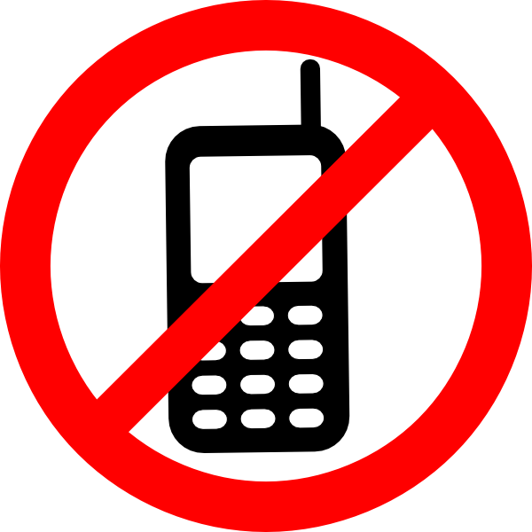 no cell phone clipart free - photo #37