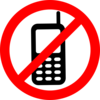 No Texting Allowed Sign Clip Art