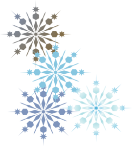 free snowflake border clipart rh worldartsme com Holiday Borders Clip Art Free Winter Clip Art Borders and Frames