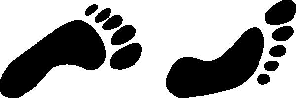 Foot Prints Clip Art at Clker.com - vector clip art online, royalty ...
