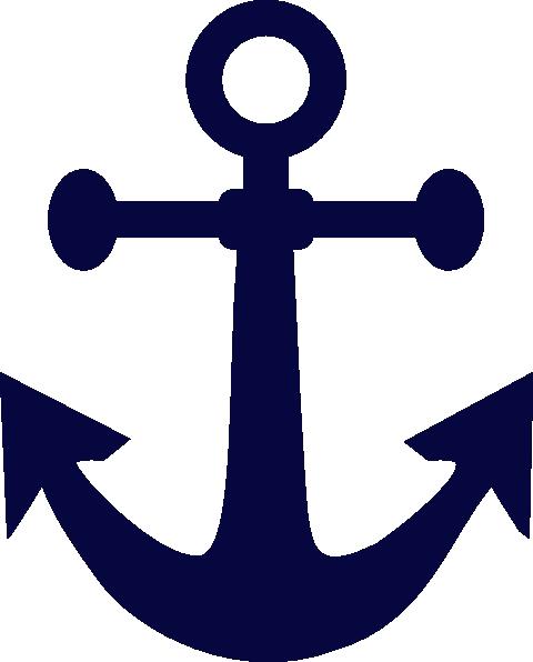 graphic relating to Printable Anchor identify Anchor Blue Artwork Clip Artwork at - vector clip artwork