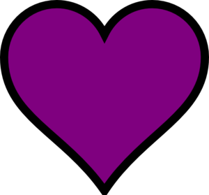 Purple Heart 2 Clip Art