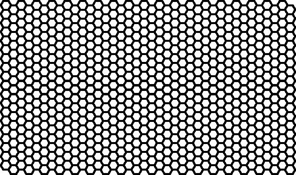 Hexagon Pattern 2 clip artHexagonal Pattern Vector