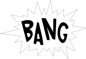 Bang Clip Art at Clker.com - vector clip art online, royalty free ...
