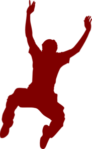 Jumping Dancer Clip Art