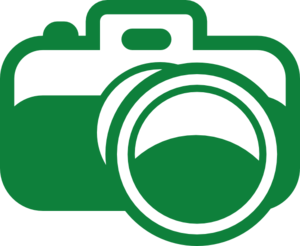 Green Camera Icon Clip Art