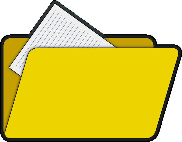 clipart document icon - photo #27