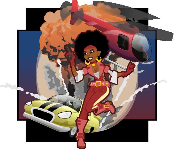 Secret Agent Woman Clip Art at Clker.com - vector clip art ...