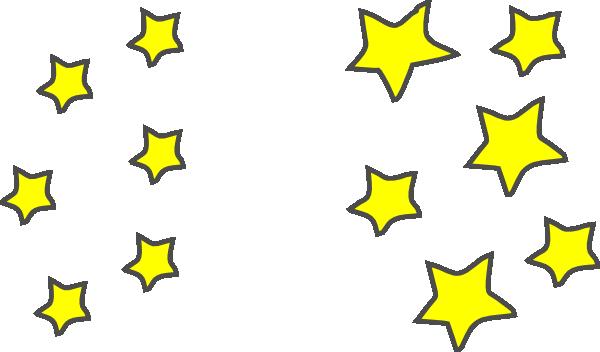 star clusters clip art at clker com vector clip art online rh clker com Shooting Star Outline Clip Art Clip Art Star Pattern