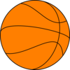 Big Basketball Clip Art