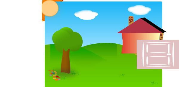 backyard clip art at clker com vector clip art online royalty rh clker com backyard garden clipart backyard clipart free