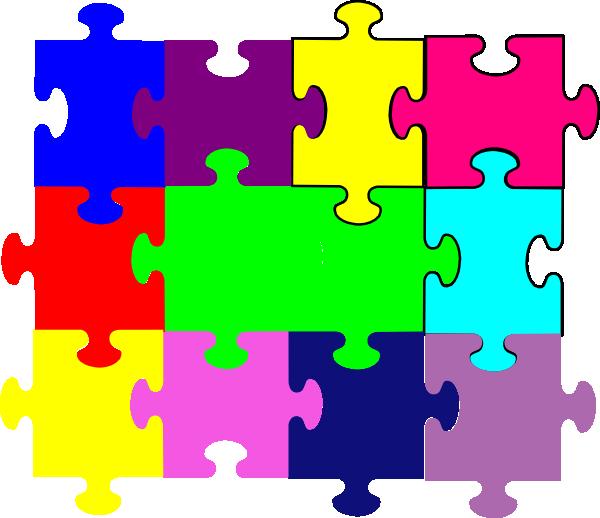 jigsaw puzzle clip art at clker com vector clip art online rh clker com jigsaw puzzle clipart black and white jigsaw puzzle clipart black and white