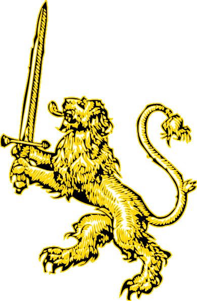 Yellow lion logo - photo#3