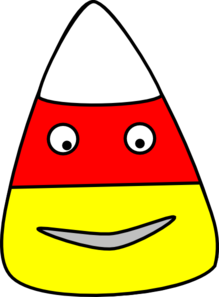 Candy Corn Character Clip Art