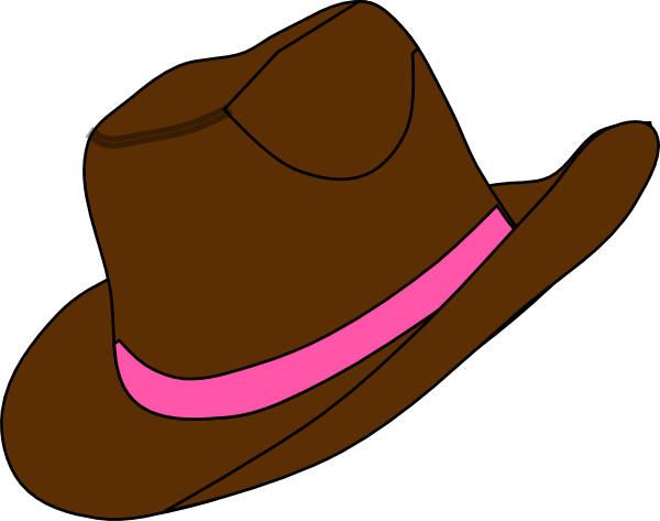 cowgirl hat and boot clip art at clker com vector clip art online rh clker com Cowboy Hat Drawing free clipart cowboy hat and boots