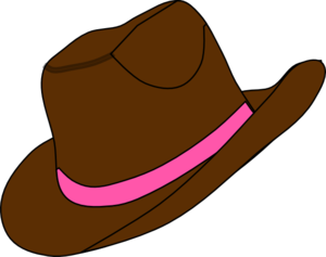 cowgirl hat and boot clip art at clker com vector clip art online rh clker com