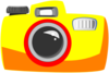 Simple Camera Clip Art