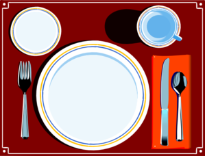 Place Setting Clip Art