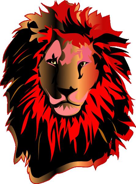 lion  red head clip art at clker com vector clip art eagle vector art free eagle vector free