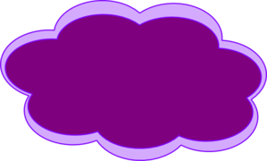 Pink Cloud Clip Art
