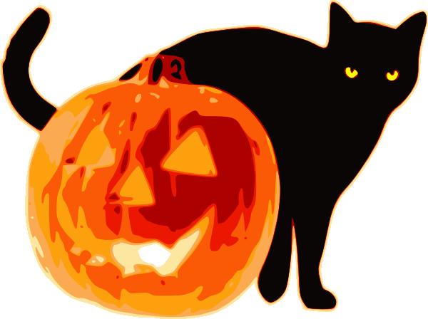 clipart halloween cat - photo #29