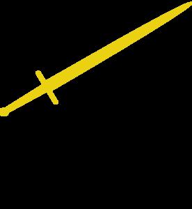 Sword Golden By Kawaljeet New Clip Art at Clker.com ...