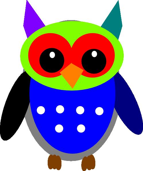 Purple Gray Owl Me Clip Art at Clker.com - vector clip art ...