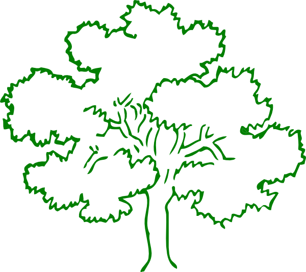 oak tree clip art images - photo #6