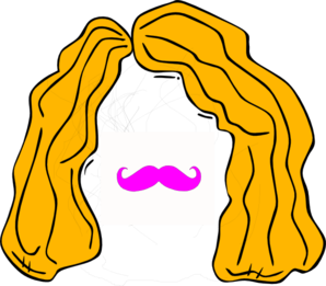 Wig And Stache Clip Art