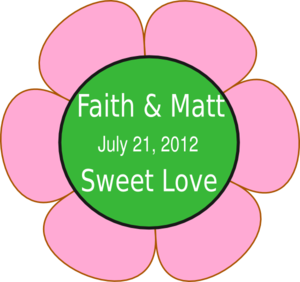 Faithmattflower3 Clip Art