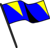 Color Guard Flag Clip Art
