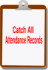 Catch All Attendance Clip Art