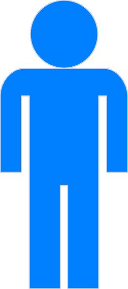 blue man clipart clip art at clker com vector clip art online