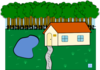 Cabin In Woods Clip Art