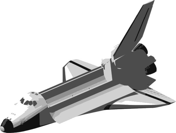 clip art of space shuttle - photo #50