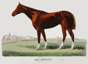 The Racing King Salvator, Mile Record 1:35 1/2: By Prince Charlie  Dam Salina By Lexington Clip Art