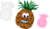 Pineapple Variations  Clip Art