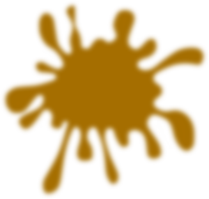 Blurred Splat Clip Art