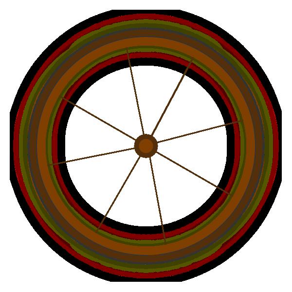wagon wheel clip art at clker com vector clip art online royalty rh clker com covered wagon wheel clip art Western Wagon Wheel Clip Art