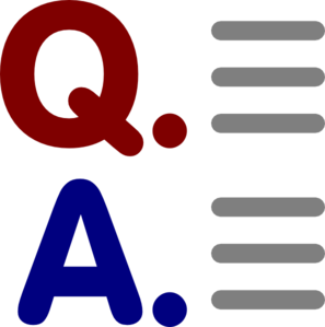 Question And Answer Clip Art