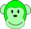 Green Monkey Clip Art