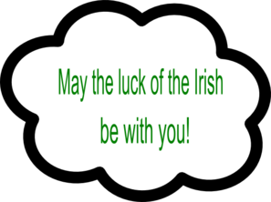 Irish Cloud Clip Art