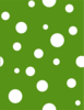 Green With White Dots 2 Clip Art