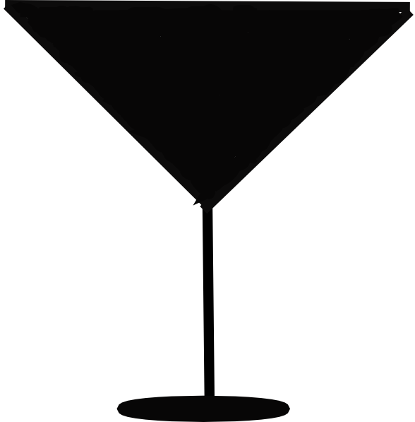 Margarita Glass Silhouette Clip Art at Clker.com - vector clip art ...