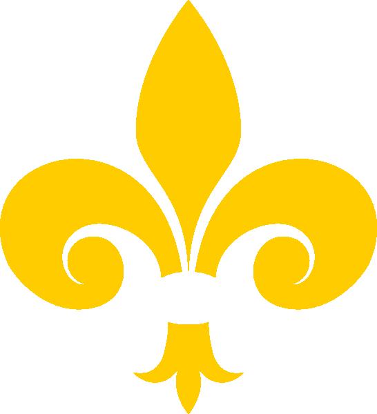 Gold Fleur De Lis Clip Art at Clker.com - vector clip art online ...