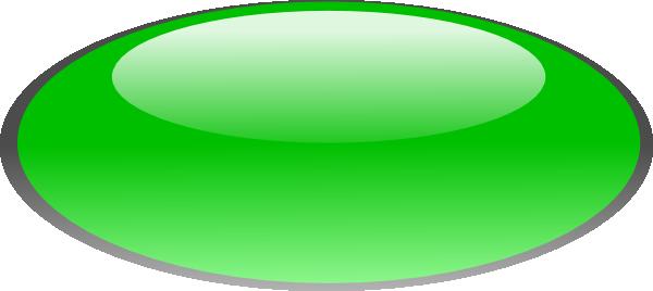 Green Oval Button Clip Art at Clker.com - vector clip art online ...