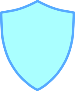 Blue And Yellow Shield Clip Art