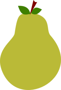 Green Pear Clip Art
