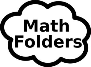 Math Folders Sign Clip Art